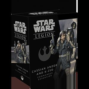 Fantasy Flight Games Star Wars: Legion  The Rebel Alliance - Legion Star Wars Legion: Cassian Andor and K-2SO Commander - FFGSWL59 - 841333110017