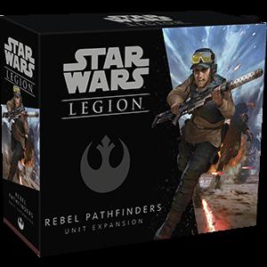 Fantasy Flight Games Star Wars: Legion  The Rebel Alliance - Legion Star Wars Legion: Rebel Pathfinders - FFGSWL32 - 841333107031