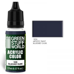 Green Stuff World   Acrylic Paints Acrylic Color BLUEGREY DUSK - 8436574501957ES - 8436574501957
