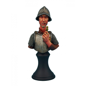 Micro Art Studio   Discworld Miniatures Discworld Vimes Bust UNPAINTED (1) - D24003 - 5900232360444