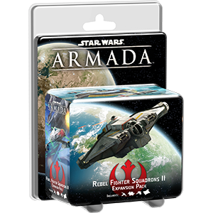 Fantasy Flight Games Star Wars: Armada  The Rebel Alliance - Armada Star Wars Armada: Rebel Fighter Squadrons II - FFGSWM23 - 841333101749