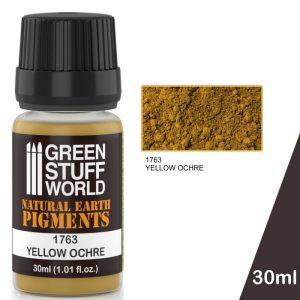Green Stuff World   Powder Pigments Pigment YELLOW OCHRE - 8436574501223ES - 8436574501223
