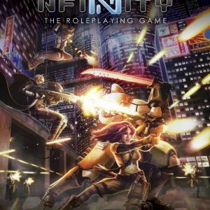 Modiphius Infinity RPG  Infinity RPG Infinity RPG: Gamemaster's Screen - MUH050231 - 5060523340934