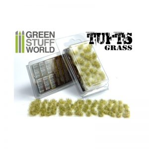 Green Stuff World   Tufts Grass TUFTS - 6mm self-adhesive - WINTER - 8436554362493ES - 8436554362493