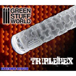 Green Stuff World   Rolling Pins Rolling Pin TRIPLEHEX - 8436554361618ES - 8436554361618