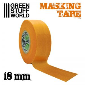 Green Stuff World   Airbrushes & Accessories Masking Tape - 18mm - 8436574505054ES - 8436574505054