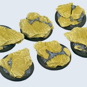 Micro Art Studio   Shale Bases Shale Bases, WRound 40mm (2) - B00242 - 5900232350070