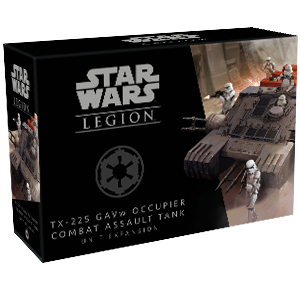 Fantasy Flight Games Star Wars: Legion  The Galactic Empire - Legion Star Wars Legion: TX-225 GAVw Occupier Combat Assault Tank - FFGSWL35 - 841333107062