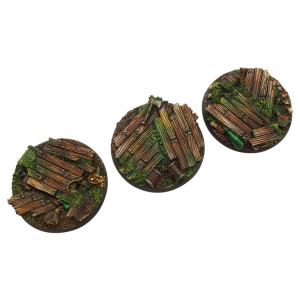 Micro Art Studio   Wood Bases Wood Bases, Round 50mm (2) - B00631 - 5907652561079