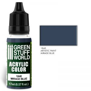 Green Stuff World   Acrylic Paints Acrylic Color MIRAGE BLUE - 8436574501995ES - 8436574501995
