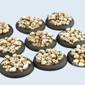 Micro Art Studio   Skulls Bases Skulls Bases, WRound 30mm (5) - B01941 - 5900232350285