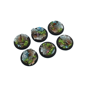 Micro Art Studio   Mystic Bases Mystic Bases, Wround 40mm (2) - B00742 - 5900232359332