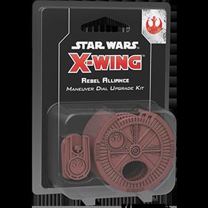 Fantasy Flight Games Star Wars: X-Wing  The Rebel Alliance - X-wing Star Wars X-Wing: Rebel Alliance Maneuver Dials - FFGSWZ09 - 841333105662