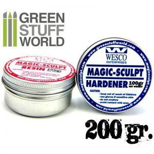 Green Stuff World   Modelling Putty & Green Stuff Magic Sculpt Putty 200gr - 8436554366842ES - 8436554366842