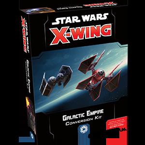 Fantasy Flight Games Star Wars: X-Wing  The Galactic Empire - X-wing Star Wars X-Wing: Galactic Empire Conversion Kit - FFGSWZ07 - 841333105648