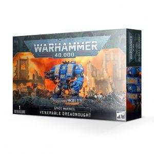 Games Workshop Warhammer 40,000  Dark Angels Space Marine Venerable Dreadnought - 99120101299 - 5011921142156