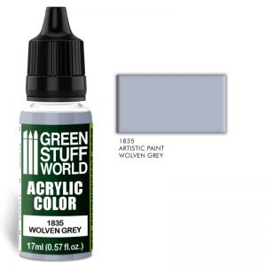 Green Stuff World   Acrylic Paints Acrylic Color WOLVEN GREY - 8436574501940ES - 8436574501940