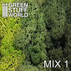 Green Stuff World   Lichen & Foliage Islandmoss - Green Mix - 8436554368242ES - 8436554368242