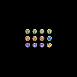 Micro Art Studio   Infinity Tokens Infinity Token Set Fireteams (12) - P00155 - 5900232354184
