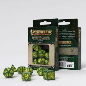 Q-Workshop   RPG / Polyhedral Pathfinder Strange Aeons Dice Set (7) - SPAT30 - 5907699493579