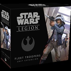 Fantasy Flight Games Star Wars: Legion  The Rebel Alliance - Legion Star Wars Legion: Rebel Fleet Troopers - FFGSWL13 - 841333104894