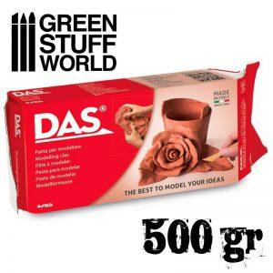 Green Stuff World   Mold Making Modelling clay DAS Terracota - 500gr. - 8000144043002ES - 8000144043002