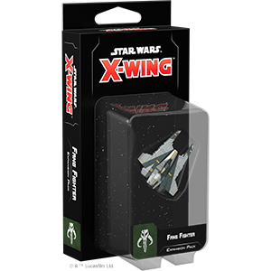 Fantasy Flight Games Star Wars: X-Wing  Scum & Villainy - X-wing Star Wars X-Wing: Fang Fighter - FFGSWZ17 - 841333106096
