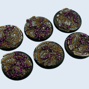Micro Art Studio   Dark Temple Bases Dark Temple Bases, WRound 40mm (2) - B02242 - 5900232351077