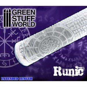 Green Stuff World   Rolling Pins Rolling Pin RUNIC - 8436554362226ES - 8436554362226