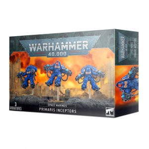 Games Workshop Warhammer 40,000  Space Marines Space Marines Primaris Inceptors - 99120101312 - 5011921142415