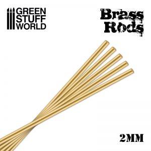 Green Stuff World   Brass Rods Pinning Brass Rods 2mm - 8436554368327ES - 8436554368327