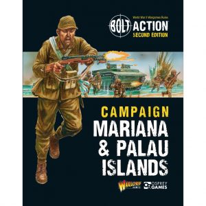 Warlord Games Bolt Action  Bolt Action Books & Accessories Bolt Action Campaign: Marianas & Palau Islands  - 401010017  - 9781472839008