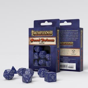 Q-Workshop   Q-Workshop Dice Pathfinder Second Darkness Dice Set (7) - SPAT24 - 9781601251718