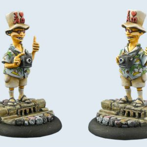 Micro Art Studio   Discworld Miniatures Discworld Twoflower (1) - D01200 - 5900232352135