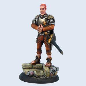 Micro Art Studio   Discworld Miniatures Discworld Captain Carrot Ironfoundersson (1) - D01600 - 5900232352173