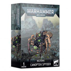 Games Workshop Warhammer 40,000  Necrons Necron Canoptek Spyder - 99120110061 - 5011921139163