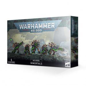 Games Workshop Warhammer 40,000  Necrons Necron Immortals / Deathmarks - 99120110057 - 5011921139125