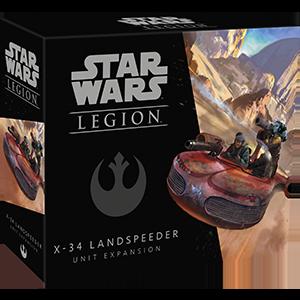 Fantasy Flight Games Star Wars: Legion  The Rebel Alliance - Legion Star Wars Legion: X-34 Landspeeder - FFGSWL36 - 841333107079