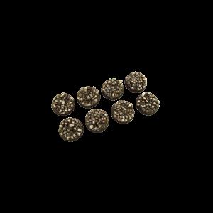 Micro Art Studio   Skulls Bases Skulls Bases, Round 32mm (4) - B01920 - 5900232358236