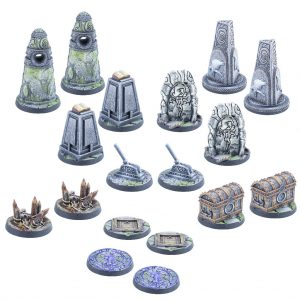 Modiphius (Direct) The Elder Scrolls: Call to Arms  The Elder Scrolls: Call To Arms The Elder Scrolls: Call to Arms Markers & Tokens - MUH052048 -