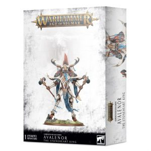 Games Workshop Age of Sigmar  Lumineth Realm-lords Lumineth Realm-lords Avalenor the Stoneheart King - 99120210039 - 5011921137046