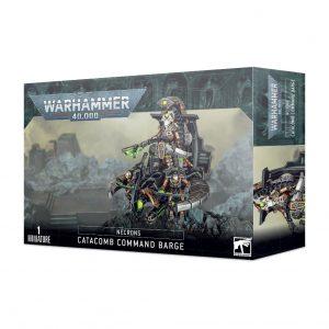 Games Workshop Warhammer 40,000  Necrons Necron Catacomb Command Barge / Annihilation Barge - 99120110064 - 5011921139194