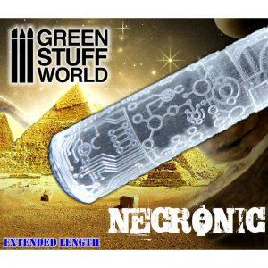Green Stuff World   Rolling Pins Rolling Pin NECRONIC - 8436574500400ES - 8436574500400