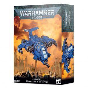 Games Workshop Warhammer 40,000  Space Marines Stormhawk Interceptor / Stormtalon Gunship - 99120101315 - 5011921142446