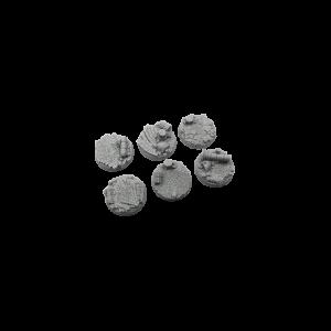 Micro Art Studio   Halodynes Bases Halodyne Bases, Round 40mm (2) - B04522 - 5900232359516