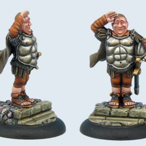 Micro Art Studio   Discworld Miniatures Discworld Sergeant Fred Colon (1) - D01900 - 5900232352203
