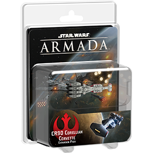 Fantasy Flight Games Star Wars: Armada  The Rebel Alliance - Armada Star Wars Armada Corellian Corvette - FFGSWM03 - 9781616619954