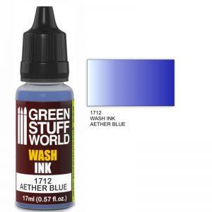 Green Stuff World   Wash Ink Wash Ink AETHER BLUE - 8436574500714ES - 8436574500714