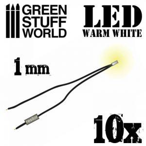 Green Stuff World   Lighting & LEDs LED Lights Warm White - 1mm - 8436554363827ES - 8436554363827