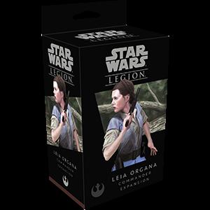 Fantasy Flight Games Star Wars: Legion  The Rebel Alliance - Legion Star Wars Legion: Leia Organa - FFGSWL12 - 841333104887